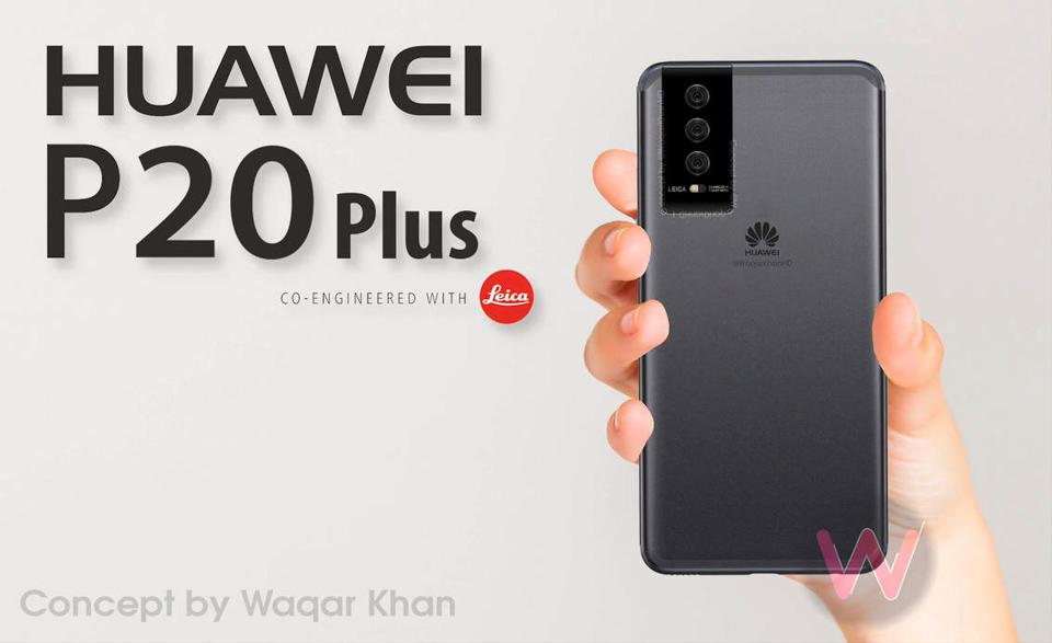 Concept Huawei P20 (ảnh 11)