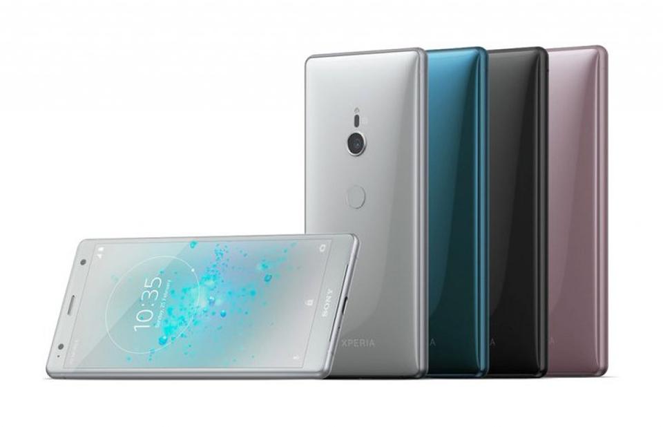 4 tùy chọn màu sắc trên Xperia XZ2