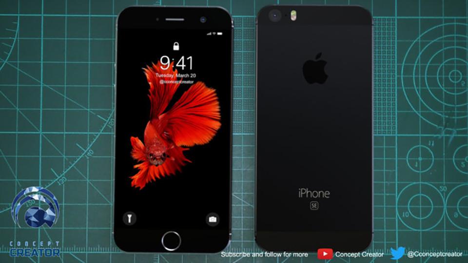 Concept iPhone SE 2018 (ảnh 5)
