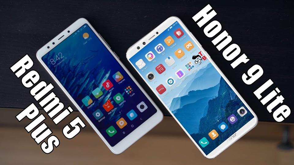 So sánh nhanh Xiaomi Redmi 5 Plus và Honor 9 Lite (ảnh 1)