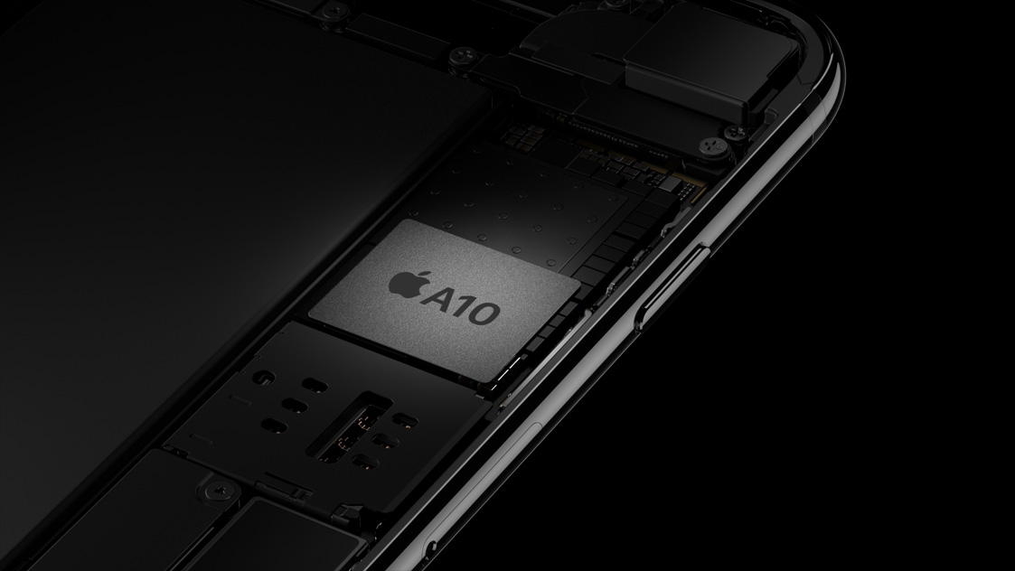 Chip A10 trên iPhone 7 và iPhone 7 Plus