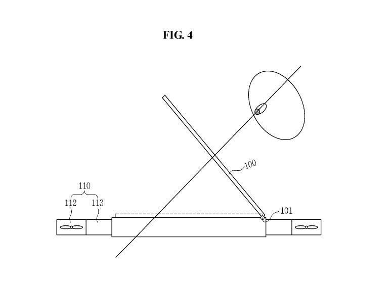 Bằng sáng chế chiếc drone mới của Samsung