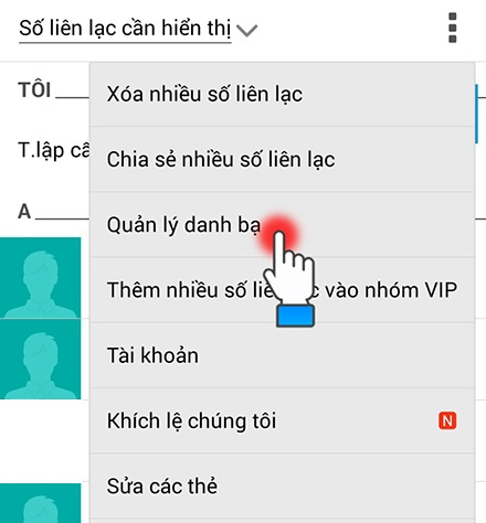Chuyển danh bạ từ Android sang iPhone