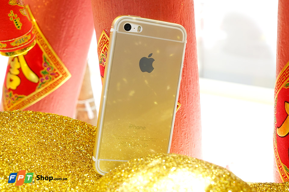 iPhone 5S ốp viền GOLD
