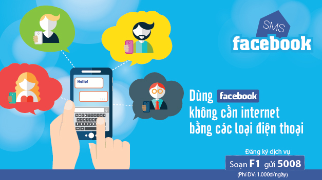 Dịch vụ SMS Facebook