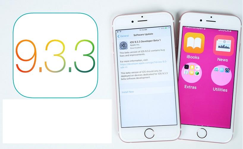 8 điều cần lưu ý khi cập nhật iOS 9.3.3 cho iPhone 6s