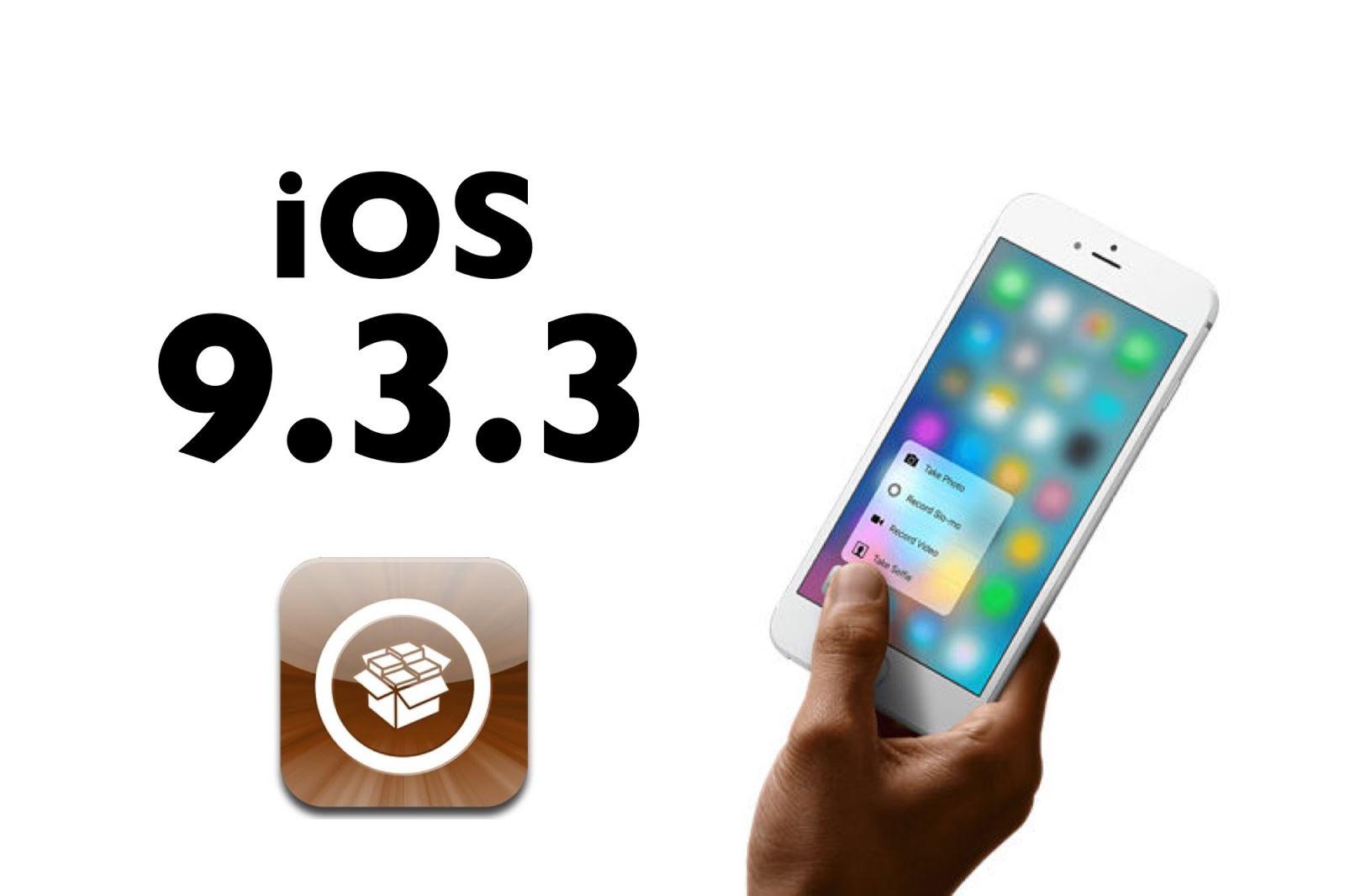 5 lý do không nên jailbreak iOS 9.3.3 ngay bây giờ