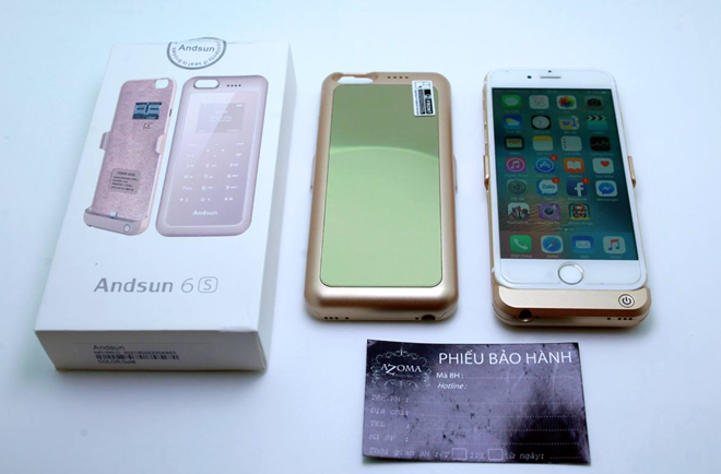 phụ kiện giúp iPhone có 2 SIM và thẻ nhớ