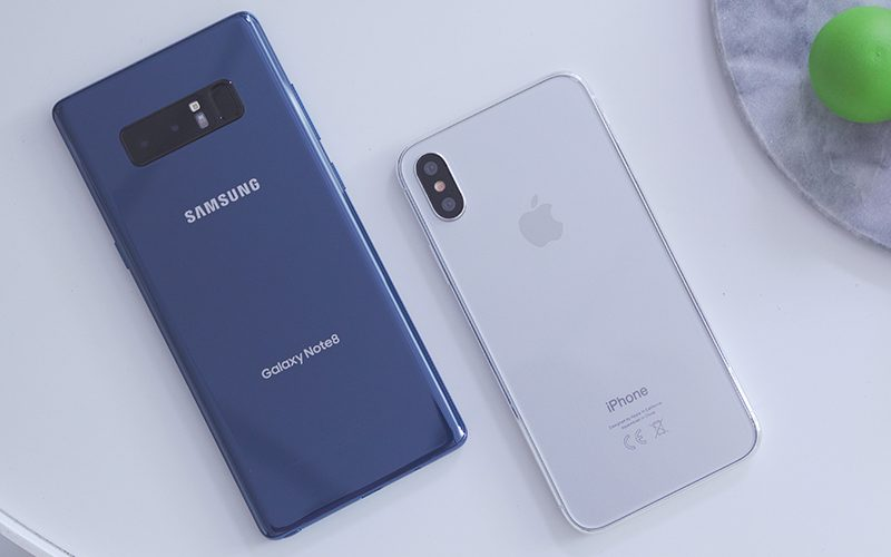 Note 8 và iPhone 8 concept