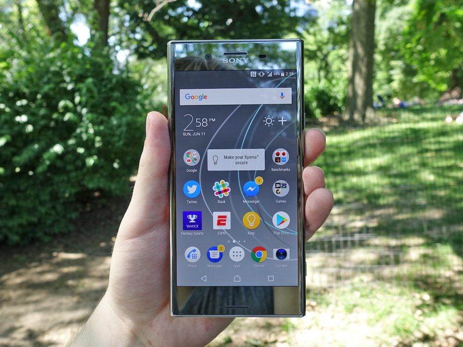 Màn hình 4K của Sony Xperia XZ Premium