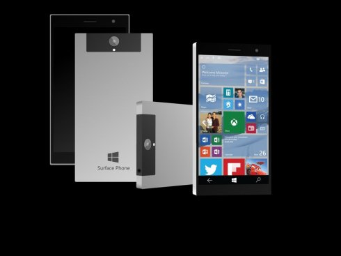 Concept Surface Phone 1