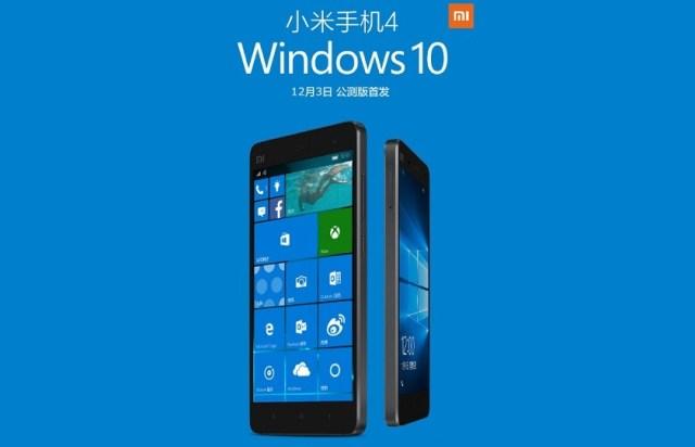 Sắp có ROM Windows 10 cho Xiaomi Mi 5