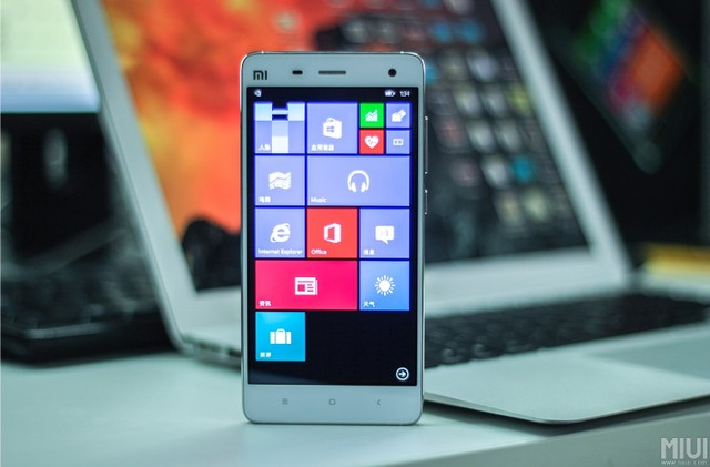 ROM WIndows 10 dành cho Xiaomi Mi 4