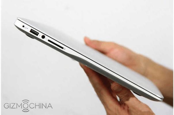 Thiết kế độc đáo của Xiaomi Notebook