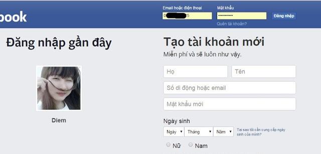 Cách xem tin nhắn Facebook của người khác