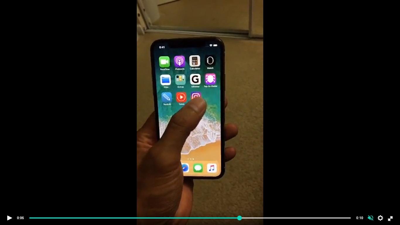 [Hot] iPhone X ''lần đầu tiên hoạt động'' ngoài đời thực!!! - ảnh 2
