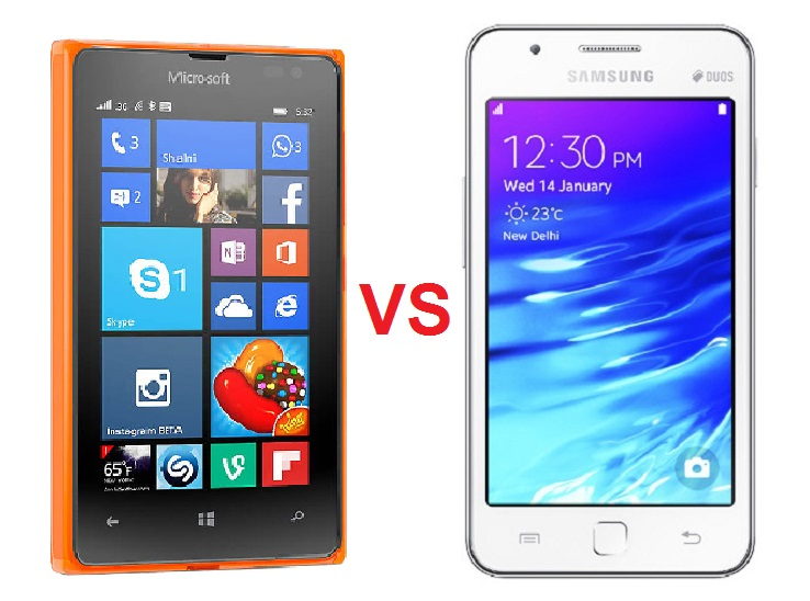 lumia-532-vs-samsung-z1