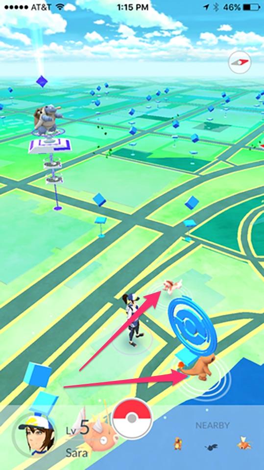 Cách bắt Pokemon