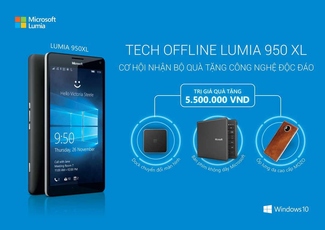 tech-offline lumia 950xl
