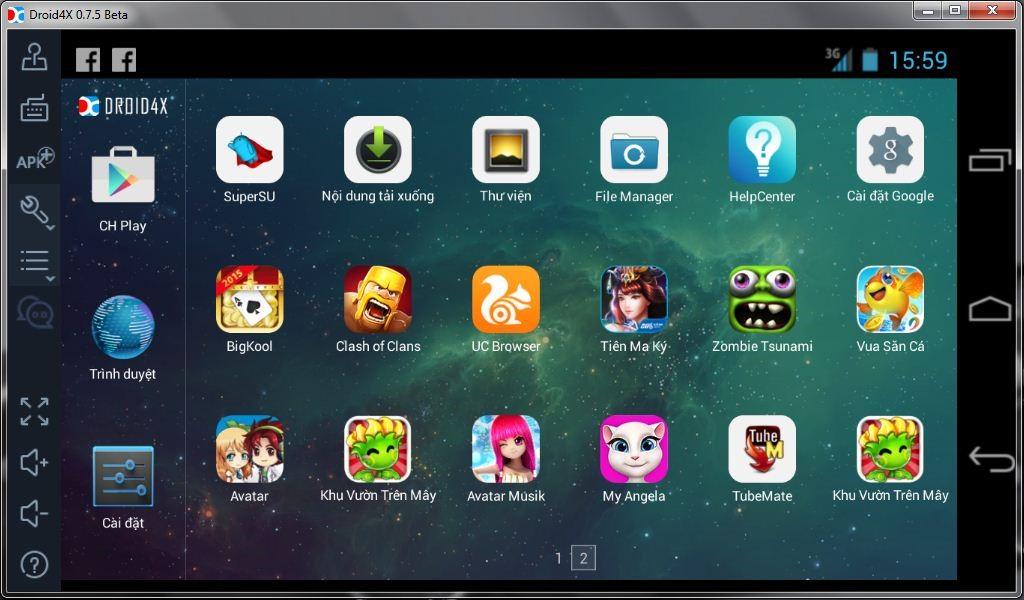 Droid4X - Phần mềm giả lập Android được ưa chuộng nhất
