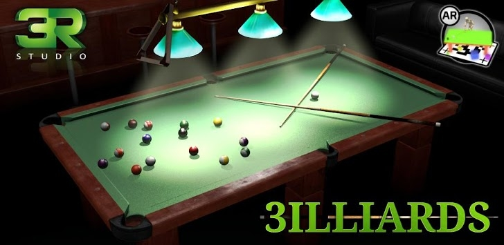 3D Pool Game – 3ILLIARDS Free