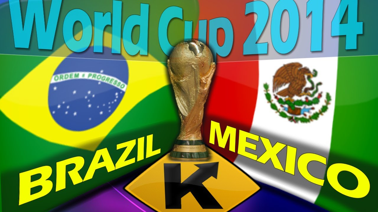 Brazil vs Mexico World Cup 2014
