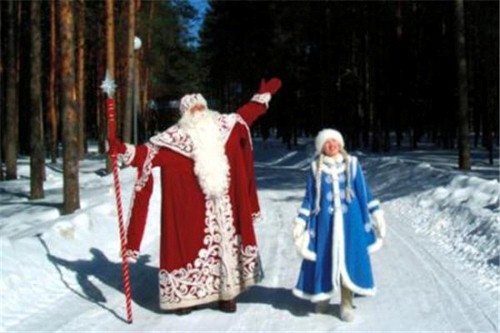 Father Frost và Snow Maiden