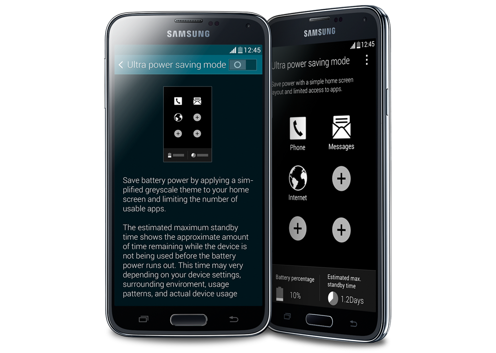 samsung galaxy s5 pin