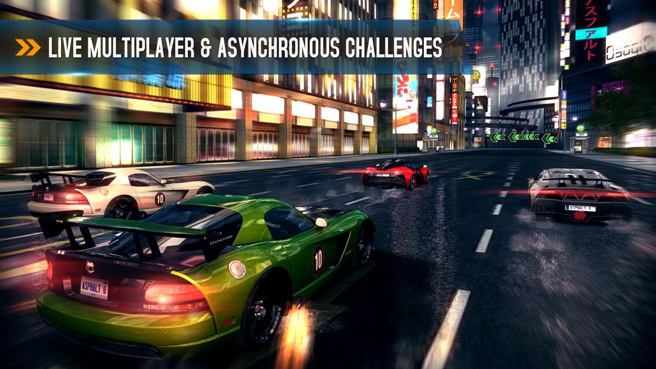 Game Asphalt 8 Airborne trên iPhone