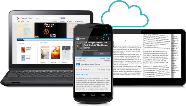 Giao diện Google Book