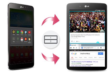 LG G Tablet V400 da nhiem