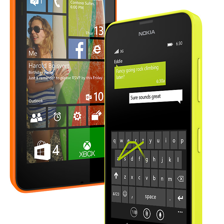 Lumia 630 trên windows Phone 8.1
