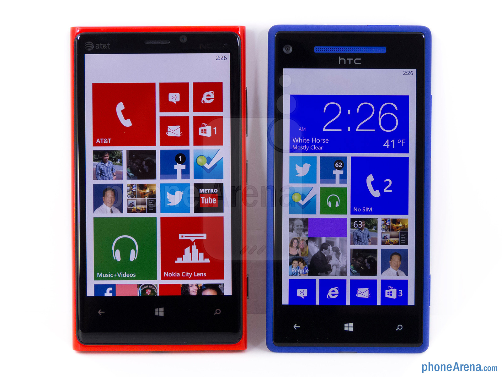 lumia 920 vs htc 8x