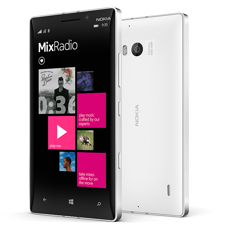 Nokia Lumia 930 mix radio