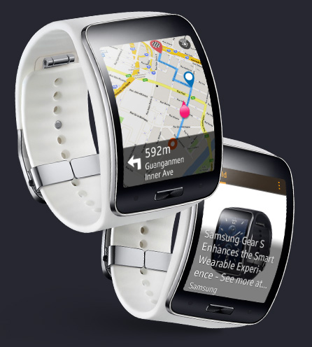 Samsung Galaxy Gear S maps