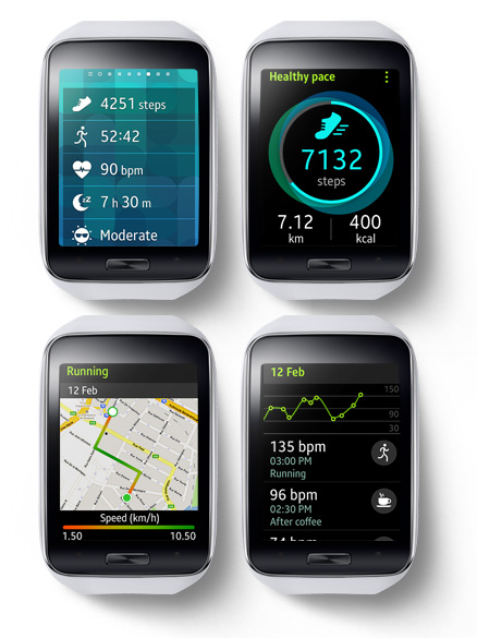 Samsung Galaxy Gear S health