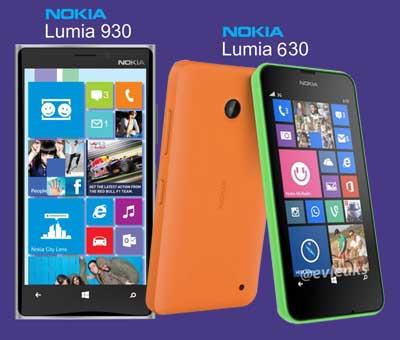 điện thoại Lumia 930 và Lumia 630