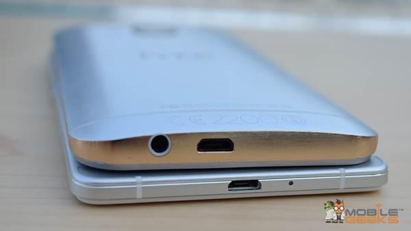 Thiết kế Oppo R7 và HTC One M9