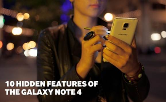 tính năng độc đáo trên Galaxy Note 4