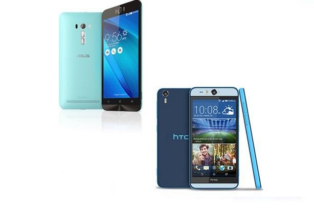 Asus ZenFone Selfie với HTC Desire EYE