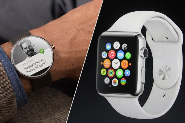 Apple Watch va Android Wear