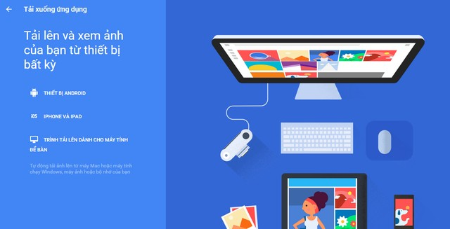 cài đặt Google Photos cho Windows