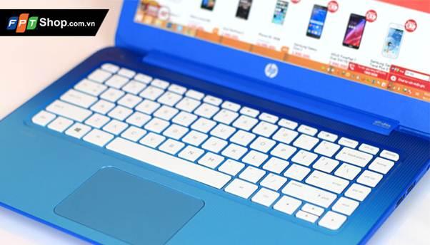 Bàn phím và Touchpad trên HP Stream