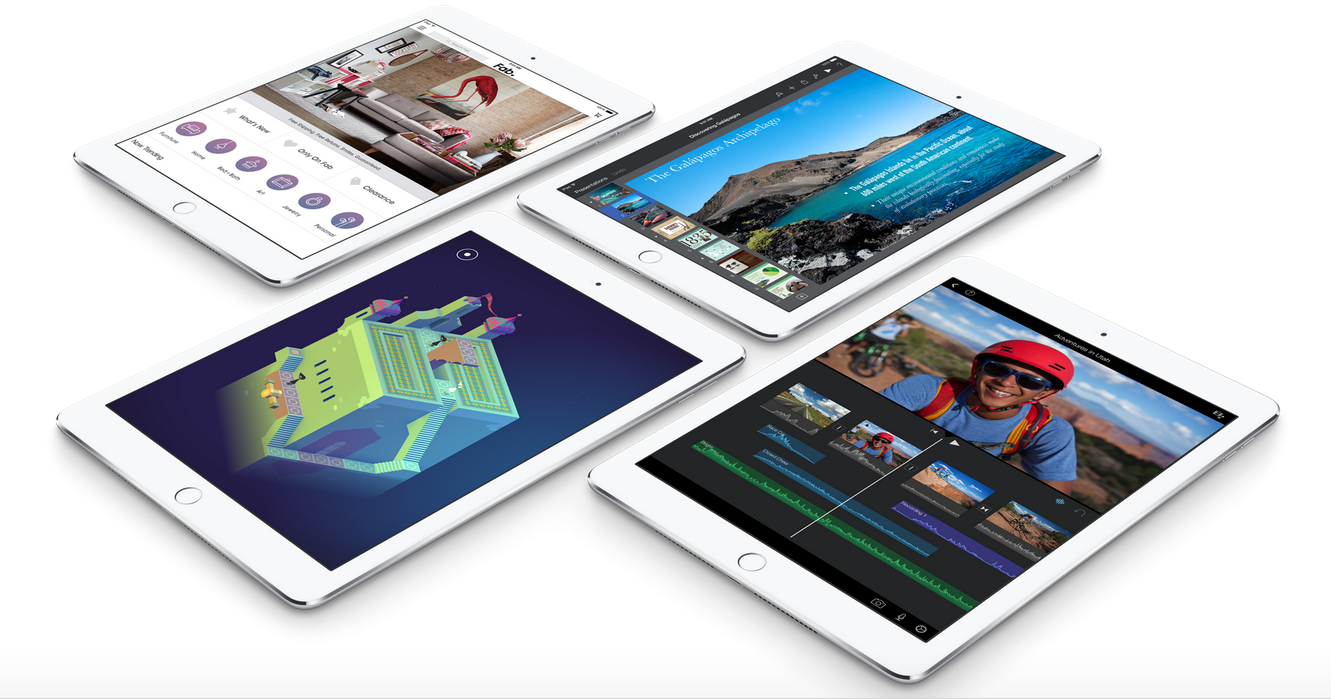 C ấu hình iPad Air 2