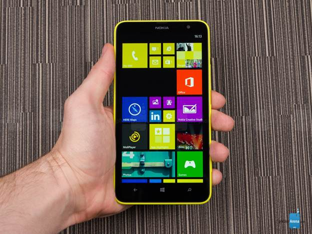Lumia 1320 chạy Windows Phone 8.1