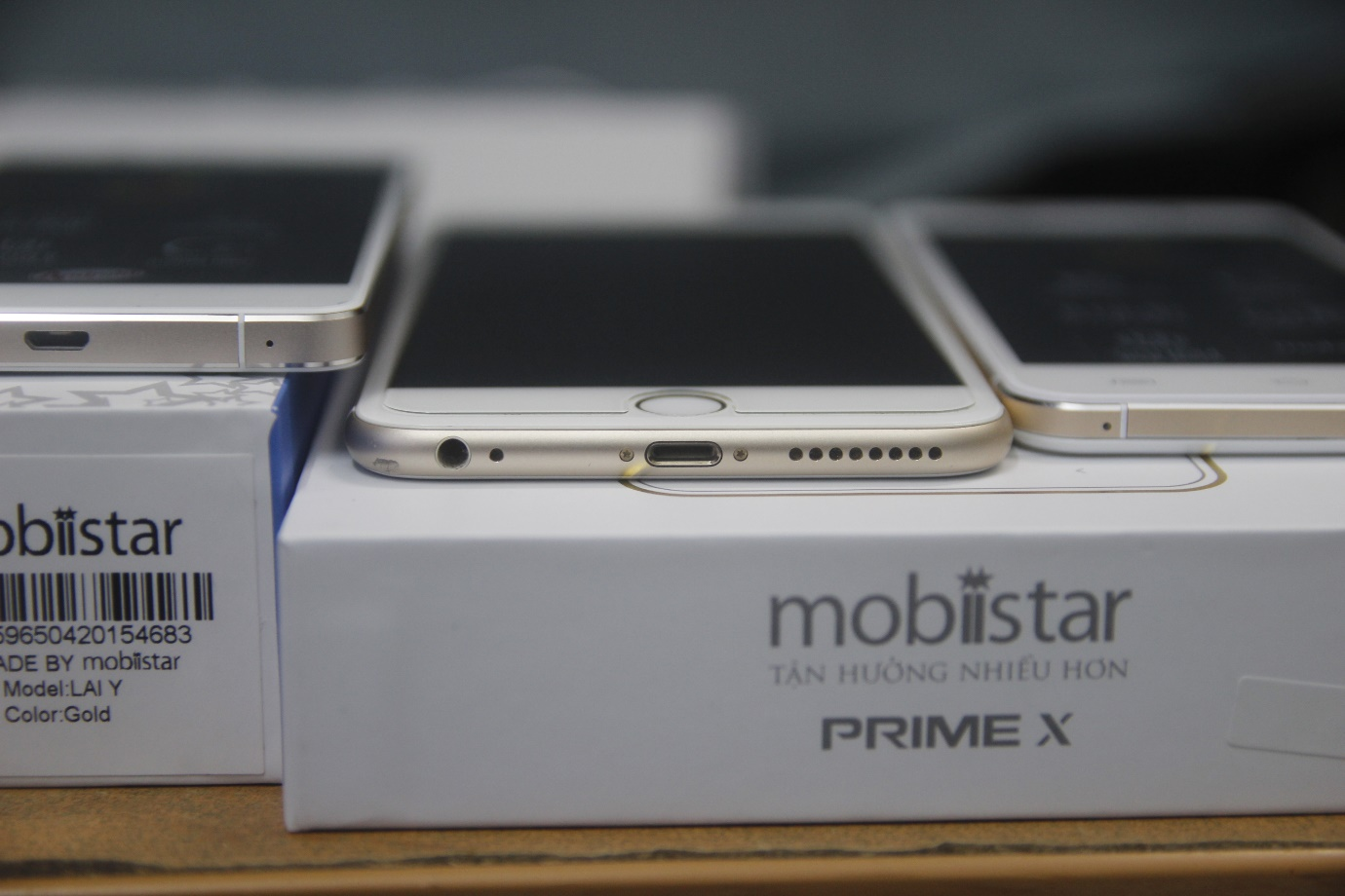 Mobiistar Prime X và Mobiistar Lai Y với iPhone 6 PLus
