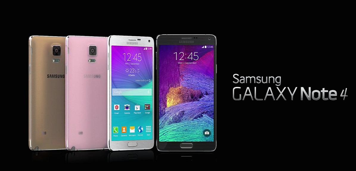 Cấu hình của Galaxy Note 4