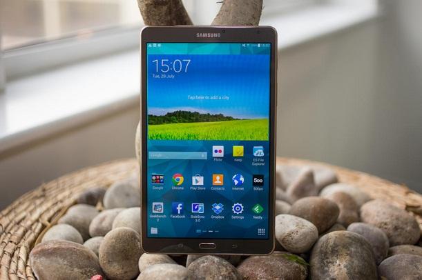 Thoi luong pin tren Galaxy Tab S 8.4