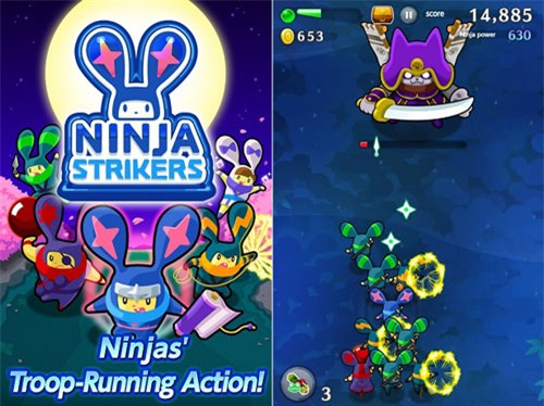 game LINE Ninja Striker
