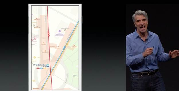 Ghi chú và bản đồ trên iOS 9